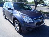 2013 Atlantis Blue Metallic Chevrolet Equinox LS #85961950