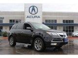 2011 Crystal Black Pearl Acura MDX Advance #85961245