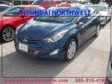 2013 Windy Sea Blue Hyundai Elantra Limited #85961341