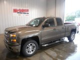 2014 Brownstone Metallic Chevrolet Silverado 1500 LT Double Cab 4x4 #85961947