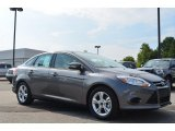 2014 Sterling Gray Ford Focus SE Sedan #85961526