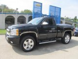 2011 Black Chevrolet Silverado 1500 LT Regular Cab 4x4 #85961433