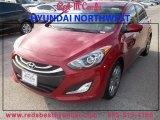 2013 Volcanic Red Hyundai Elantra GT #85961314