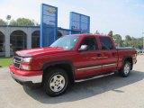 2006 Victory Red Chevrolet Silverado 1500 Z71 Crew Cab 4x4 #85961432