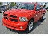 2014 Flame Red Ram 1500 Express Regular Cab 4x4 #85961830