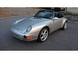 1998 Porsche 911 Arctic Silver Metallic
