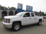 2014 Summit White Chevrolet Silverado 1500 LT Double Cab 4x4 #85961426