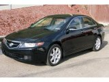 2005 Nighthawk Black Pearl Acura TSX Sedan #8585106