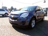 2013 Atlantis Blue Metallic Chevrolet Equinox LS AWD #85961300