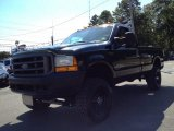 1999 Dark Tourmaline Metallic Ford F350 Super Duty XL Regular Cab 4x4 #85961926
