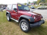 2012 Deep Cherry Red Crystal Pearl Jeep Wrangler Sport 4x4 #85961498