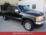 2005 Onyx Black GMC Sierra 1500 Z71 Crew Cab 4x4 #85961578