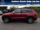 2014 Deep Cherry Red Crystal Pearl Jeep Grand Cherokee Limited 4x4 #85961473