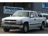 1999 Summit White Chevrolet Silverado 1500 LS Extended Cab 4x4 #85961574