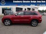 2014 Deep Cherry Red Crystal Pearl Jeep Grand Cherokee Overland 4x4 #85961472