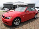 2006 Electric Red BMW 3 Series 325i Sedan #8596138