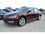 2014 Opera Red Metallic Volkswagen Passat 1.8T SEL Premium #85961716