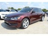 2014 Opera Red Metallic Volkswagen Passat 2.5L SE #85961713