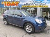 2010 Navy Blue Metallic Chevrolet Equinox LS AWD #85961267