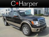 2013 Kodiak Brown Metallic Ford F150 Lariat SuperCab 4x4 #85961207