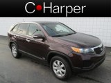 2012 Dark Cherry Kia Sorento LX AWD #85961887