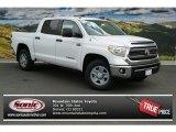 2014 Super White Toyota Tundra SR5 Crewmax 4x4 #85961191