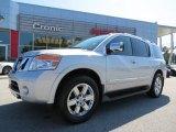 2012 Brilliant Silver Nissan Armada Platinum #85961681