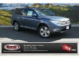 2013 Shoreline Blue Pearl Toyota Highlander Limited 4WD #85961174