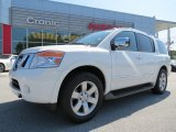 2012 Blizzard White Nissan Armada SL #85961680