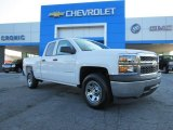 2014 Summit White Chevrolet Silverado 1500 WT Double Cab #85961664