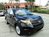 2011 Tuxedo Black Metallic Ford Explorer XLT #86008176