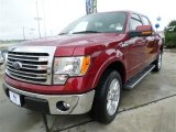 2013 Ruby Red Metallic Ford F150 Lariat SuperCrew #86008125