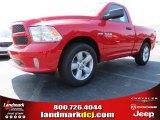 2014 Flame Red Ram 1500 Express Regular Cab #86008206