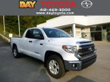 2014 Super White Toyota Tundra SR5 Double Cab 4x4 #86008122