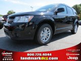2014 Pitch Black Dodge Journey SXT #86008202