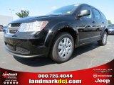 2014 Pitch Black Dodge Journey Amercian Value Package #86008200