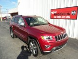 2014 Deep Cherry Red Crystal Pearl Jeep Grand Cherokee Limited 4x4 #86008395