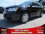 2014 Pitch Black Dodge Journey Amercian Value Package #86008195