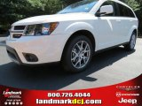 2014 White Dodge Journey R/T #86008194