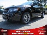 2014 Pitch Black Dodge Journey R/T #86008192