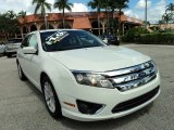 2010 White Suede Ford Fusion SEL #86008167