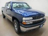2002 Indigo Blue Metallic Chevrolet Silverado 1500 LS Extended Cab 4x4 #86008070