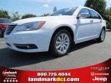 2014 Bright White Chrysler 200 Limited Sedan #86008183