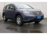 2014 Twilight Blue Metallic Honda CR-V LX #86008247