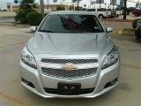 2013 Silver Ice Metallic Chevrolet Malibu LTZ #86008163