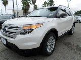 2014 White Platinum Ford Explorer XLT #86008148