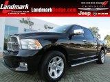 2012 Black Dodge Ram 1500 Laramie Limited Crew Cab #86008226