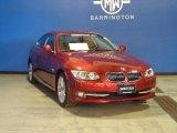 2011 Vermillion Red Metallic BMW 3 Series 328i xDrive Coupe #86030949