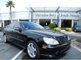 2004 Black Mercedes-Benz S 430 Sedan #86037012