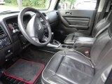 2009 Hummer H3 Alpha Ebony/Pewter Interior